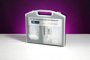 UV Bulb Mercury Spillage Kit