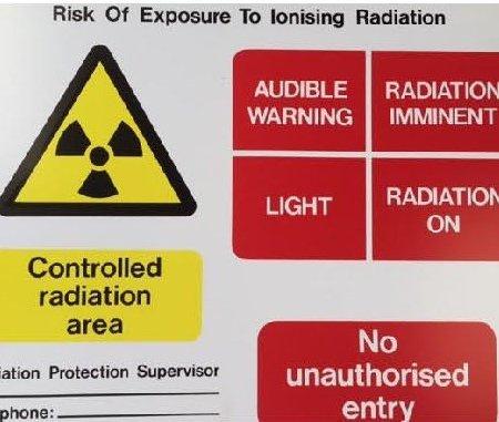 RAD Safety Signs
